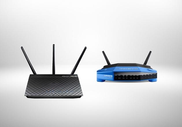 Image de la catégorie WLAN - LAN routeurs - bridges