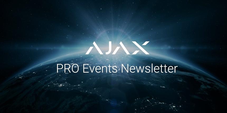 WILCON SECURITY vous invite le 28 novembre pour la prochaine présentation et formation d'AJAX