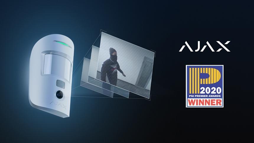 """AJ-MotionCam gagne la catégorie """"Intruder Product Of The Year"""" aux PSI Premier Awards 2020 !"""
